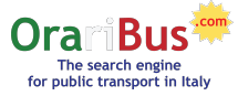 OrariBus.com: the search engine of public transport in Italy